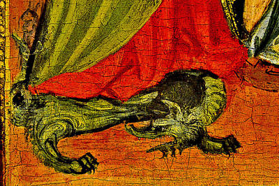 Dragon. National Gallery In Prague. Czech Republic. Poster by Andy Za