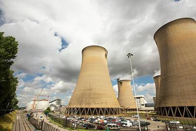Drax Power Station In Yorkshire Poster