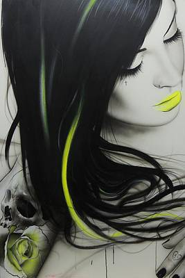 Portrait - ' Dream ' Poster by Christian Chapman Art