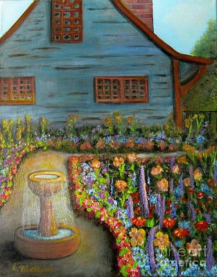 Dream Garden Poster by Laurie Morgan