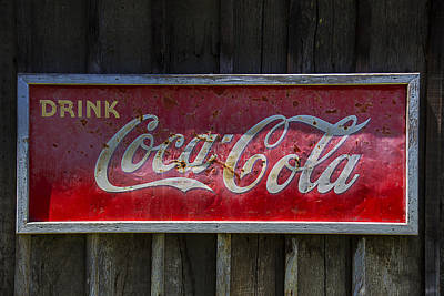 Drink Coca Cola Poster by Garry Gay