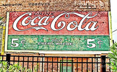 Drink Coca Cola Poster by Scott Pellegrin