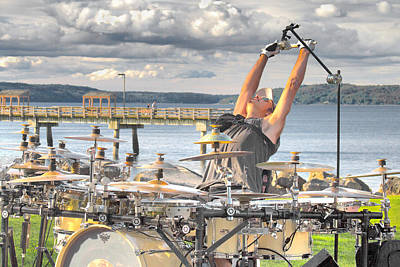 Drummer Poster by Matthew Ahola