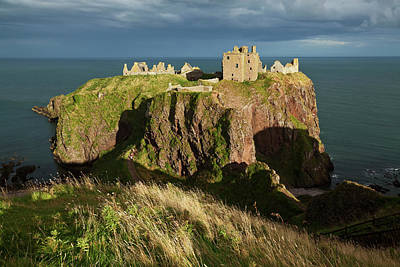 Dunnottar Castle, South Of Stonehaven Poster