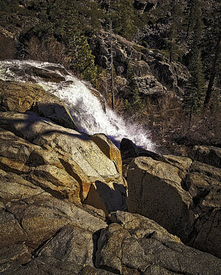 Poster featuring the photograph Eagle Falls by Nancy Marie Ricketts