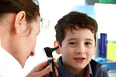 Ear Examination Poster