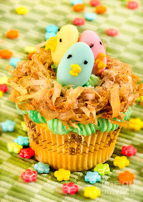 Easter Cupcakes  Poster by Iris Richardson