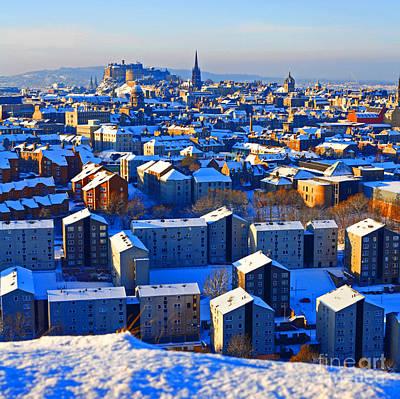 Edinburgh Winter Poster
