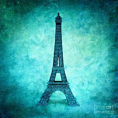 Eiffel Tower Poster by Bernard Jaubert