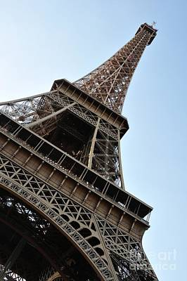 Poster featuring the photograph Eiffel Tower by Joe  Ng