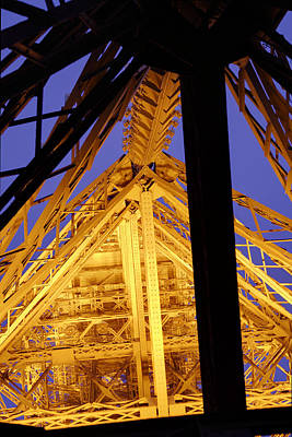 Eiffel Tower - Paris France - 011310 Poster by DC Photographer