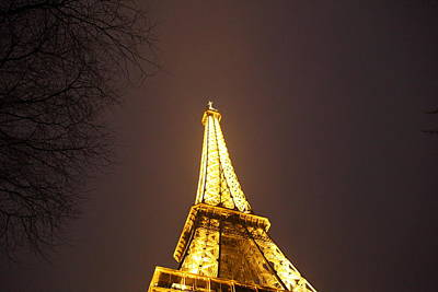 Eiffel Tower - Paris France - 011316 Poster by DC Photographer