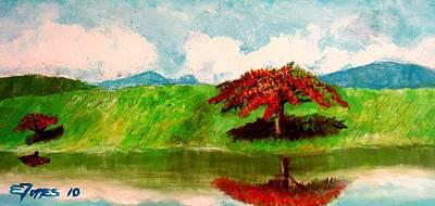 El Lago Poster
