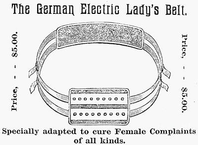 Electric Belt Ad Poster by Granger