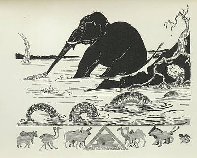 Elephant Poster by British Library