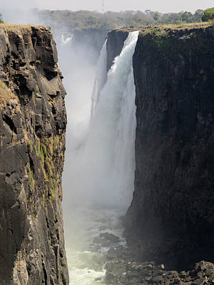 Elevated View Of Waterfall, Devils Poster by Panoramic Images