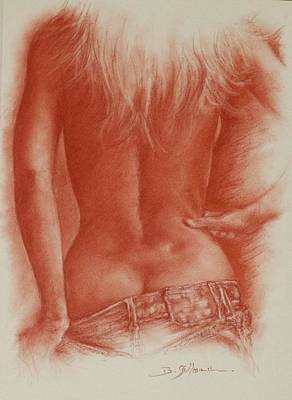 Elle Est Moi Poster by Guillaume Bruno