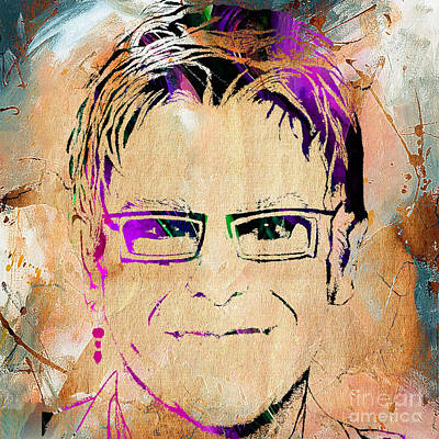 Elton John Collection Poster