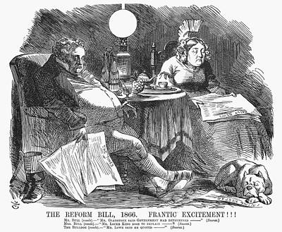 England Reform Bill, 1866 Poster by Granger