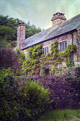 English Cottage Poster by Joana Kruse