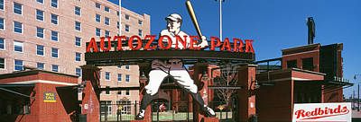 Entrance Of A Baseball Stadium Poster by Panoramic Images