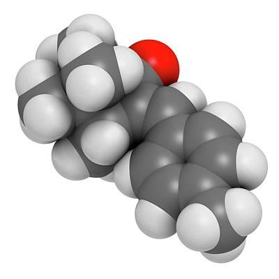 Enzacamene Sunscreen Molecule Poster by Molekuul