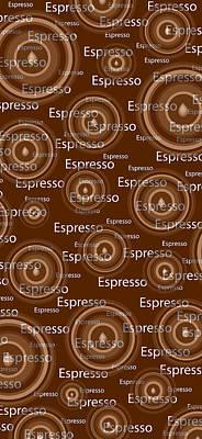Espresso Poster by Frank Tschakert