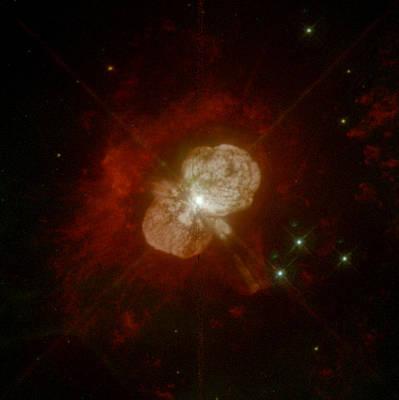 Eta Carinae, Stellar System Poster by Science Source