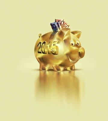 Euro Savings Poster by Smetek