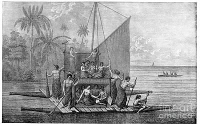 Exploration Of Tonga, 18th Century Poster