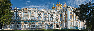 Facade Of A Palace, Catherine Palace Poster