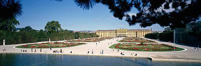 Facade Of A Palace, Schonbrunn Palace Poster