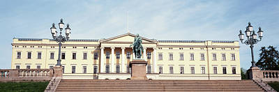 Facade Of The Royal Palace, Oslo, Norway Poster by Panoramic Images