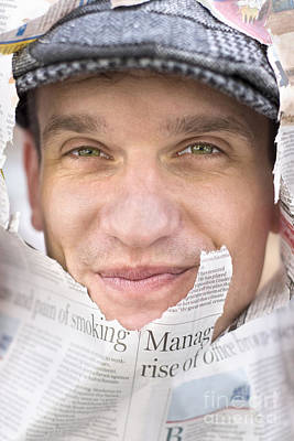 Face On News Poster by Jorgo Photography - Wall Art Gallery