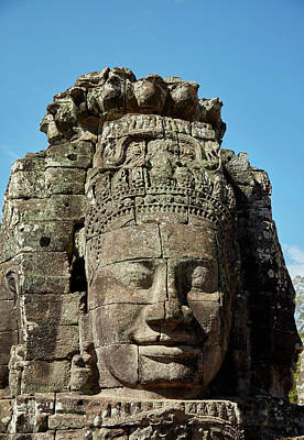 Face Thought To Depict Bodhisattva Poster