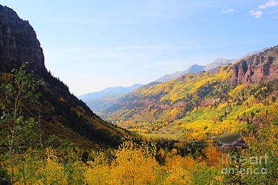 Fall In Telluride Poster
