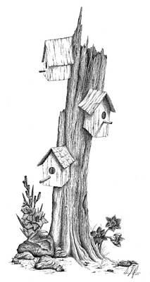 Family Tree Poster by Dana Alfonso