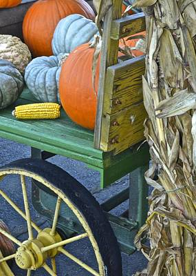 Farmers Market Poster by Frozen in Time Fine Art Photography