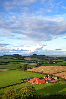 Farmland Viewed From Dunamase Or Poster by Panoramic Images