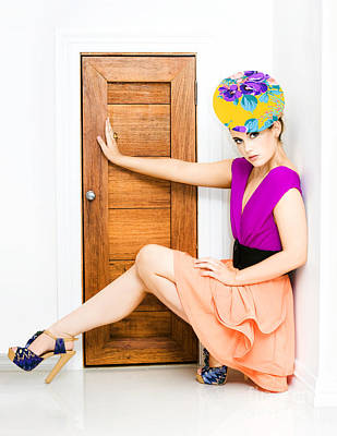 Fashion Police Blocking Doorway Poster by Jorgo Photography - Wall Art Gallery