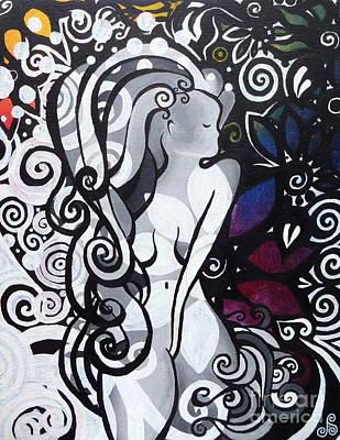 Femme Frutal Poster by Jen Santa