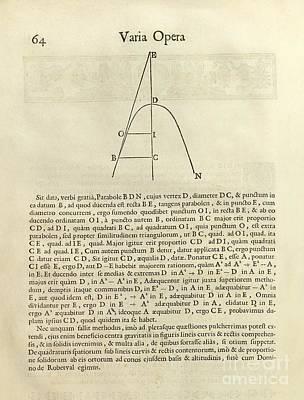 Fermat's Tangent Method Poster
