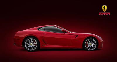 Ferrari 599 Gtb Poster by Douglas Pittman