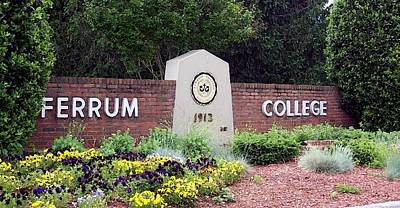 Ferrum College Portrait Poster by Olde Time  Mercantile