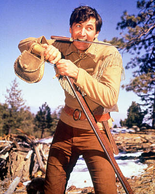 Fess Parker In Daniel Boone  Poster by Silver Screen