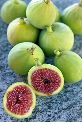 Figs (ficus Carica Poster by Nico Tondini