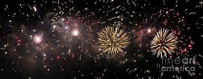 Fireworks 14 Poster by France Laliberte