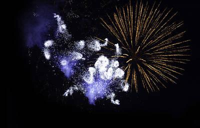 Fireworks Poster by Modern Art Prints