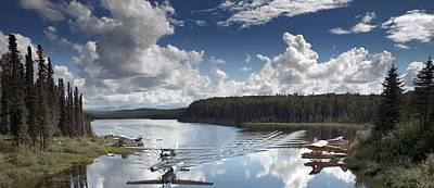 Fish Lake In Talkeetna Poster by Mountain Dreams