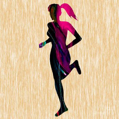 Fitness Runner Poster